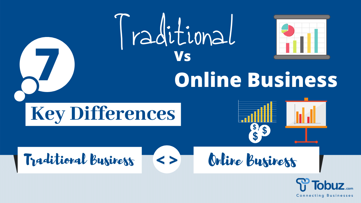 Online Business & Traditional Business- Are they Fall in the Same Category?